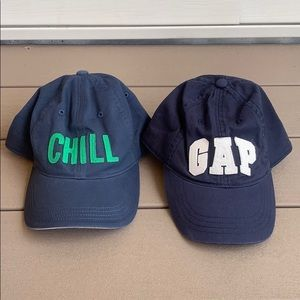 Boys Gap hats.